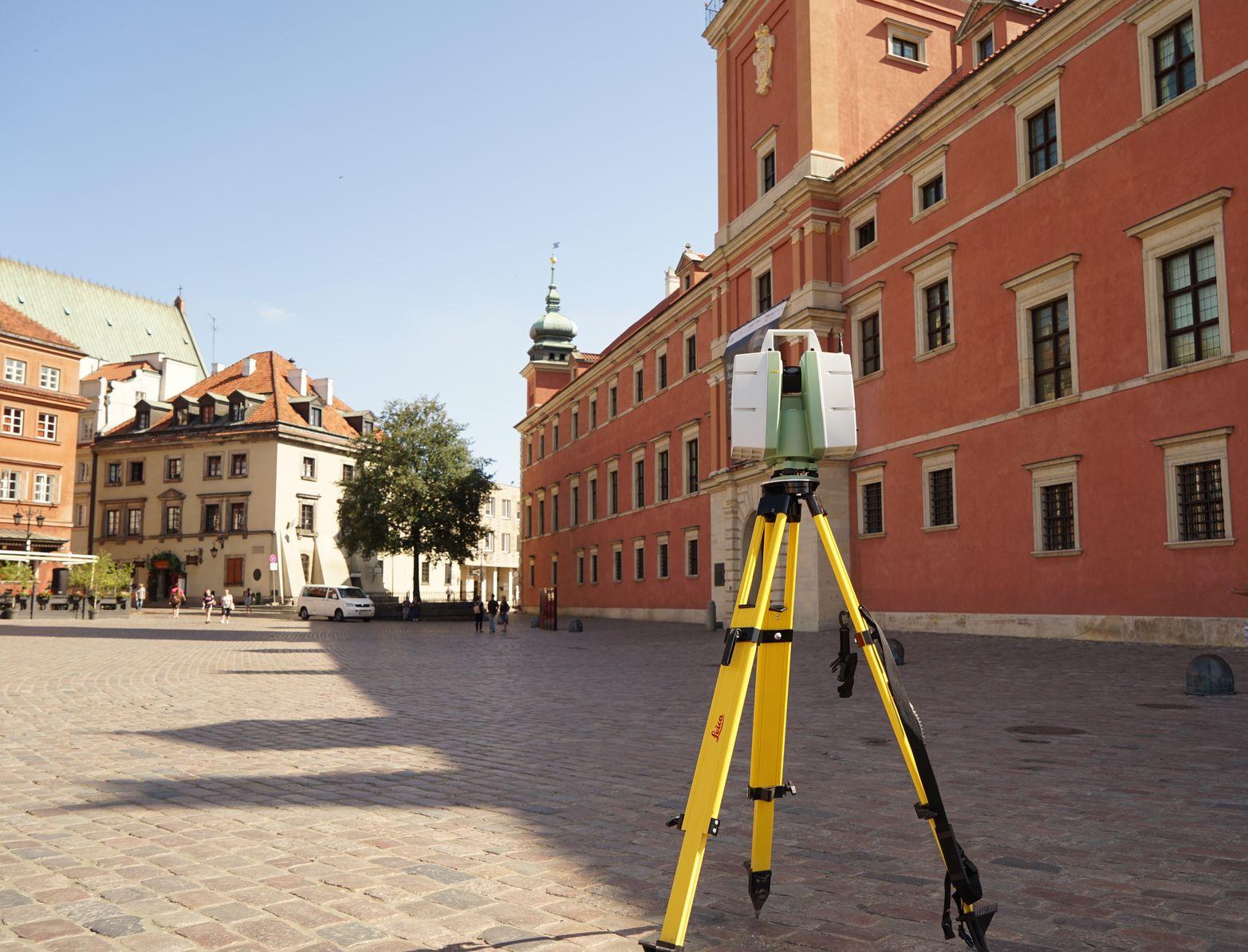 skanowanie laserowe zabytków